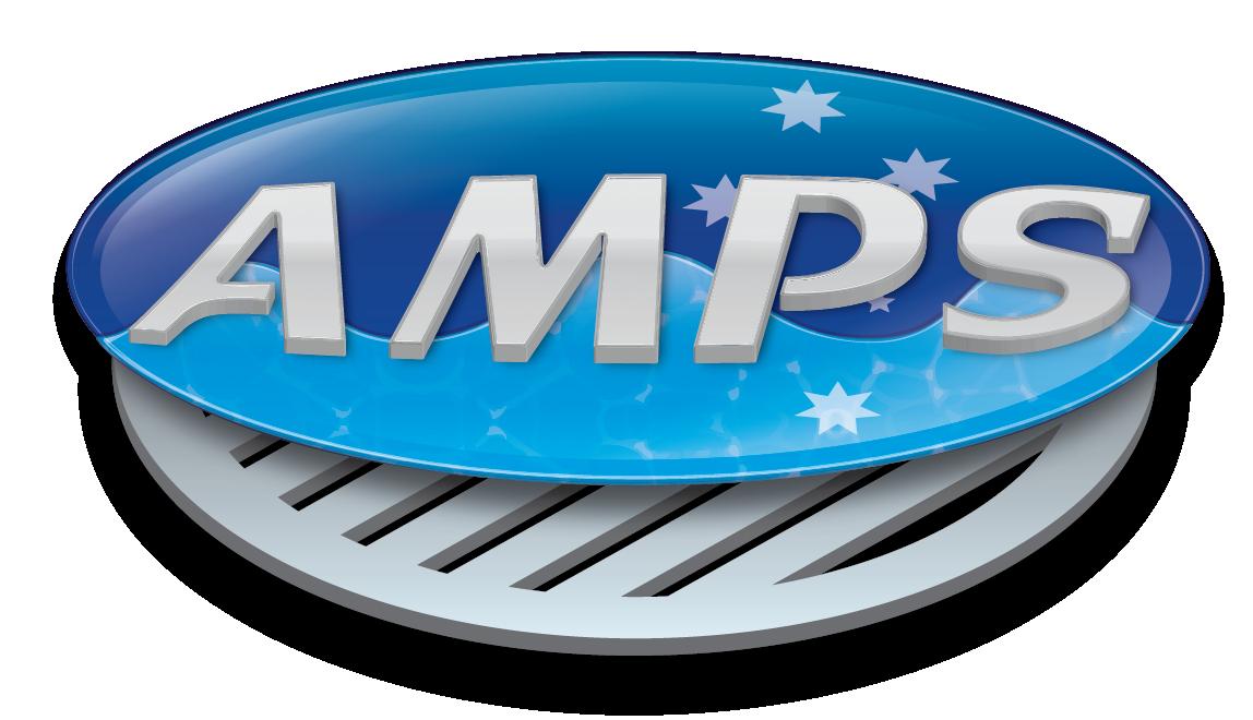 amps logo design