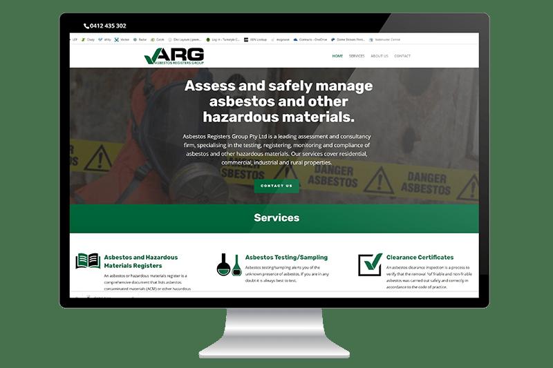 Website Design for Central Coast Asbestos Removal