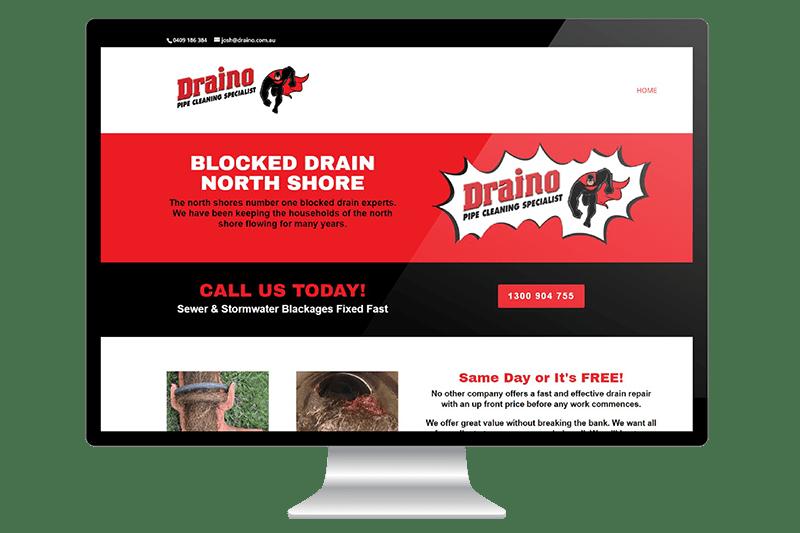 Website Design for North Shore Plumber
