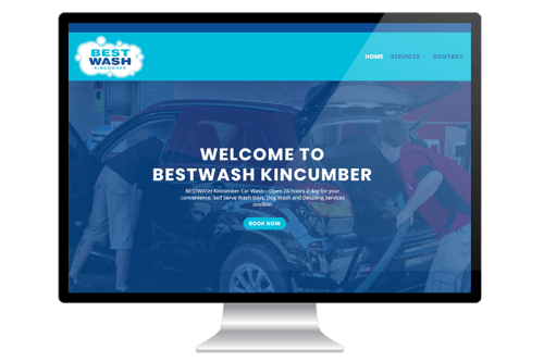 Website Design for Car Wash Kincumber