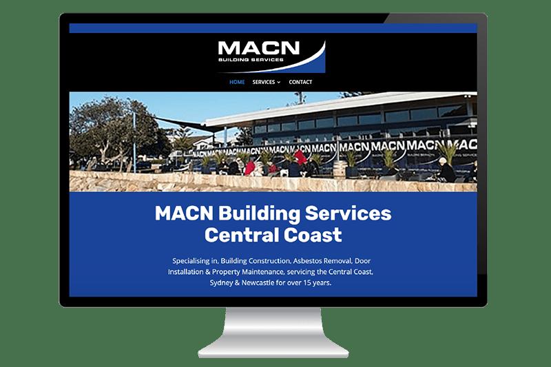 Website Design for MACN Building