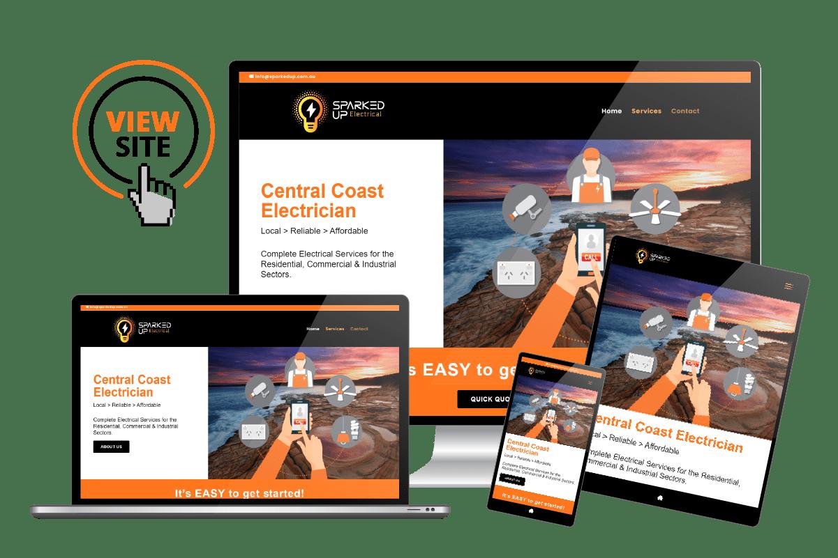 Electricians Website Design